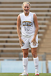 28 August 2009: Greensboro's Tabitha Padgett. The Duke University Blue Devils lost 1-0 to the University of North Carolina Greensboro Spartans at Fetzer Field in Chapel Hill, North Carolina in an NCAA Division I Women's college soccer game.