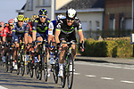 The peloton with 12k to go during the 60th edition of the Record Bank E3 Harelbeke 2017, Flanders, Belgium. 24th March 2017.<br /> Picture: Eoin Clarke   Cyclefile<br /> <br /> <br /> All photos usage must carry mandatory copyright credit (&copy; Cyclefile   Eoin Clarke)