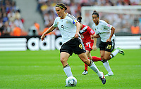 Birgit Prinz of Germany during the FIFA Women's World Cup at the FIFA Stadium in Berlin, Germany on June 26th, 2011.