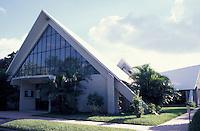 The Capilla de la Divina Providencia where liberation theologist Archbishop Oscar Romero was shot on March 24, 1980, San Salvador, El Salvador