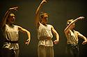 London, UK. 30.10.2013. Hofesh Shechter presents his new work, SUN, at Sadler's Wells. Dancers are: Maeva Berthelot, Winifred Burnet-Smith, Chien-Ming Chang, Sam Coren, Frederic Despierre, Bruno Karim Guillore, Philip Hulford, Yeji Kim, Kim Kohlmann, Erion Kruja, Merel Lammers, Sita Ostheimer, Marla Phelan, Attila Ronai, Hannah Shepherd, Diogo Sousa. Photograph © Jane Hobson.