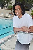 Young Man at Pool