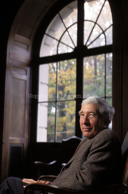 John Updike in New York in 1996.