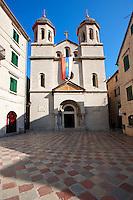 St Nicholas's  Serbian Orthodax Church, St Lukes Square, Kotor, Montenegro.
