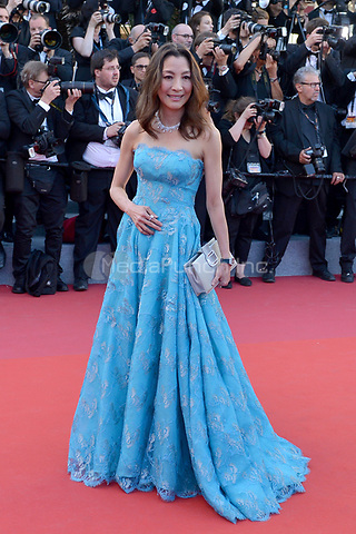 Michelle Yeoh at the Opening Movie &acute;Les Fantomes d Ismael`  screening during The 70th Annual Cannes Film Festival on May 17, 2017 in Cannes, France.<br /> CAP/LAF<br /> &copy;Lafitte/Capital Pictures /MediaPunch ***NORTH AND SOUTH AMERICAS, CANADA and MEXICO ONLY***