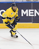 Chris Barton (Merrimack - 23) - The University of Notre Dame Fighting Irish defeated the Merrimack College Warriors 4-3 in overtime in their NCAA Northeast Regional Semi-Final on Saturday, March 26, 2011, at Verizon Wireless Arena in Manchester, New Hampshire.