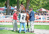 Steeplechase Finale 8/30/12 - You The Man wins optional claimer; Cubist takes Jeffords Hurdle Stakes