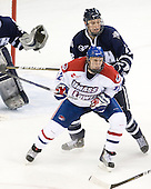 Josh Holmstrom (Lowell - 12), Connor Hardowa (UNH - 2) - The visiting University of New Hampshire Wildcats defeated the University of Massachusetts-Lowell River Hawks 3-0 on Thursday, December 2, 2010, at Tsongas Arena in Lowell, Massachusetts.