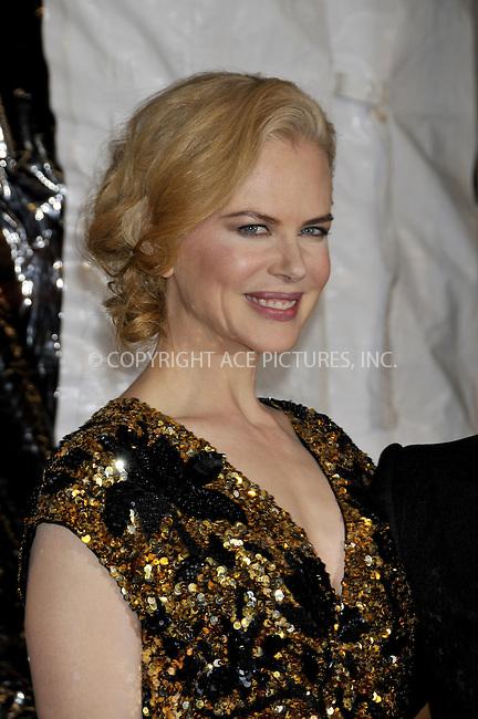WWW.ACEPIXS.COM . . . . .....November 24, 2008. New York City.....Nicole Kidman attends the 'Australia' Premiere held at the Ziegfeld Theater on November 24, 2008 in New York City...  ....Please byline:  AJ Sokalner - ACEPIXS.COM..... *** ***..Ace Pictures, Inc:  ..Philip Vaughan (646) 769 0430..e-mail: info@acepixs.com..web: http://www.acepixs.com