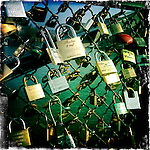 Padlocks, Ponts des Arts, Paris, France