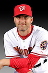 25 February 2007: Washington Nationals infielder Billy Traber poses for his Photo Day portrait at Space Coast Stadium in Viera, Florida.<br /> <br /> Mandatory Photo Credit: Ed Wolfstein Photo<br /> <br /> Note: This image is available in a RAW (NEF) File Format - contact Photographer.