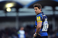 Wynand Olivier of Worcester Warriors looks on during a break in play. Aviva Premiership match, between Worcester Warriors and Bath Rugby on February 13, 2016 at Sixways Stadium in Worcester, England. Photo by: Patrick Khachfe / Onside Images