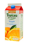 Carton of Tropicana Orange Juice