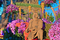 "Rose Parade, Float, Directors' Trophy, Phoenix, Satellite TV, ""Dance with the Terra Cotta Warriors"" showcasing the Province of Shaanxi China,"