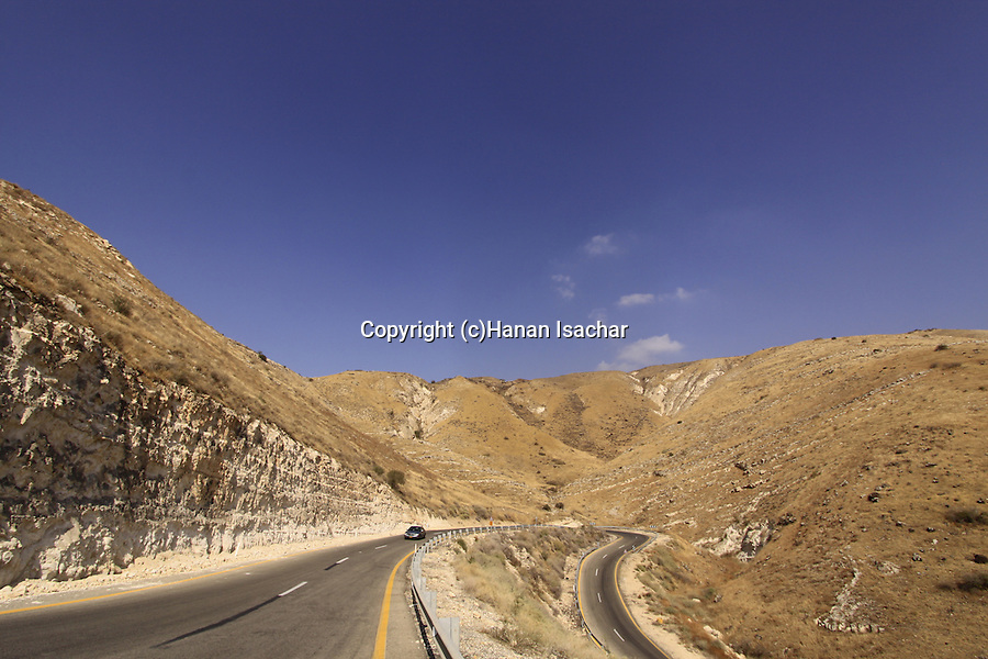 Route 98 in the Golan Heights