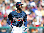 3 March 2010: Atlanta Braves' outfielder Jason Heyward in action during a Grapefruit League game against the New York Mets at Champion Stadium in the ESPN Wide World of Sports Complex in Orlando, Florida. The Braves defeated the Mets 9-5 in the Spring Training matchup. Mandatory Credit: Ed Wolfstein Photo