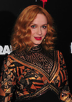 NEW YORK,NY November 015 : Christina Hendricks attend the 'Bad Santa 2' New York premiere at AMC Loews Lincoln Square 13 theater on November 15, 2016 in New York City...@John Palmer / Media Punch