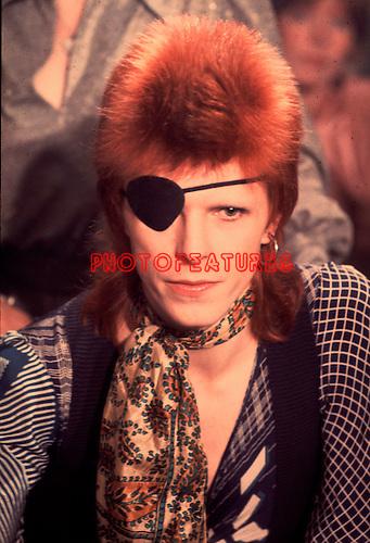 David Bowie 1974..© Chris Walter..