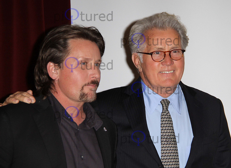 Emilio Estevez; Martin Sheen The Way screening, BFI Southbank, London, UK, 21 February 2011:  Contact: Ian@Piqtured.com +44(0)791 626 2580 (Picture by Richard Goldschmidt)