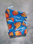 An empty Mango carton