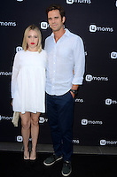 LOS ANGELES, CA - AUGUST 4: Majandra Delfino. David Walton at the 4Moms launch of the world's first self-installing car seat at Petersen Automotive Museum in Los Angeles, California on August 4, 2016. Credit: David Edwards/MediaPunch