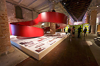 Venice, Italy - 15th Architecture Biennale 2016, &quot;Reporting from the Front&quot;.<br /> Arsenale.<br /> C+S Architects