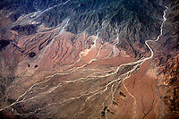 Overlooking the inhospitable landscape of the Dankalia Depression, Eritrea..