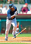 2 March 2009: New York Yankees' shortstop Angel Berroa in action during a Spring Training game against the Houston Astros at Osceola County Stadium in Kissimmee, Florida. The teams played to a 5-5, 9-inning tie. Mandatory Photo Credit: Ed Wolfstein Photo