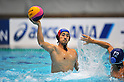 Kan Aoyagi (Bourbon KZ), OCTOBER 2, 2011 - Water Polo : Japan Challenge 2011 match Men's 3rd Place Match between Bourbon Water Polo Club ..Kashiwazaki 10 - 8 All Tsukuba University at Tatsumi International Swimming Pool, Tokyo, Japan. (Photo by Jun Tsukida/AFLO SPORT) [0003]