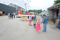 ALGEMEEN: HEERENVEEN: IJSSTADION THIALF: 13-06-2015, Dag van de Bouw, ©foto Martin de Jong