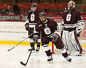 Kurtis Bartliff (Colgate - 16) - The Harvard University Crimson defeated the Colgate University Raiders 4-1 (EN) on Friday, February 15, 2013, at the Bright Hockey Center in Cambridge, Massachusetts.
