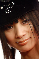 3 March 2007: Celebrity actress Bai Ling of But Can They Sing? arrives at the World Poker Tour Invitational for the fifth annual tournament at the Commerce Casino in Los Angeles, CA.