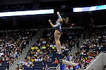 21 APR 2012:  Mattie Larson of UCLA performs on the beam during the Division I Women's Gymnastics Championship held at the Gwinnett Center Arena in Duluth, GA. Joshua Duplechian/NCAA Photos