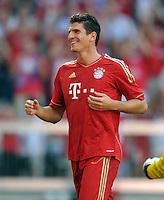 FUSSBALL   1. BUNDESLIGA  SAISON 2011/2012   5. Spieltag FC Bayern Muenchen - SC Freiburg         10.09.2011 JUBEL nach dem Tor Mario Gomez (FC Bayern Muenchen)
