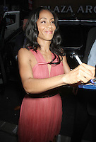 June 06, 2012:  Jada Pinkett Smith at NBC's Today Show in New York City to discuss her new movie Madagascar 3: Europe's Most Wanted. © RW/MediaPunch Inc. ***NO GERMANY***NO AUSTRIA***