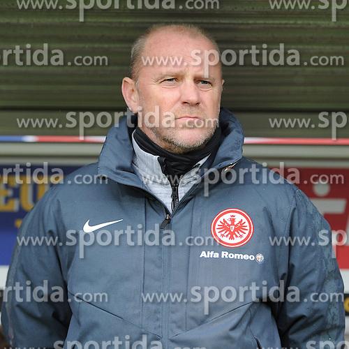 31.01.2015, Schwarzwald Stadion, Freiburg, GER, 1. FBL, SC Freiburg vs Eintracht Frankfurt, 18. Runde, im Bild Thomas Schaaf (Chef-Trainer Eintracht Frankfurt) // during the German Bundesliga 18th round match between SC Freiburg and Eintracht Frankfurt at the Schwarzwald Stadion in Freiburg, Germany on 2015/01/31. EXPA Pictures &copy; 2015, PhotoCredit: EXPA/ Eibner-Pressefoto/ Laegler<br /> <br /> *****ATTENTION - OUT of GER*****