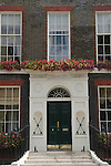 Bedford Square, Bloomsbury London WC1 England UK. Number One Bedford Square, home of Cameron Mackintosh (Overseas) Limited.