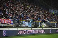 VOETBAL: HEERENVEEN: Abe Lenstra Stadion, 09-12-2012, Eredivisie 2012-2013, SC Heerenveen - Roda JC, Eindstand 4-4, Zonder Respect Geen Voetbal, ©foto Martin de Jong