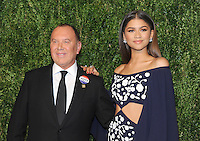 NEW YORK, NY - NOVEMBER 07: Zendaya and Michael Kors attends 13th Annual CFDA/Vogue Fashion Fund Awards at Spring Studios on November 7, 2016 in New York City. Photo by John Palmer/ MediaPunch