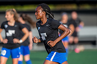 Boston, MA - Friday May 19, 2017: Ifeoma Onumonu during a regular season National Women's Soccer League (NWSL) match between the Boston Breakers and the Portland Thorns FC at Jordan Field.