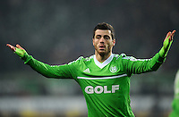 FUSSBALL   1. BUNDESLIGA    SAISON 2012/2013    15. Spieltag   VfL Wolfsburg - Hamburger SV                               02.12.2012 Vieirinha (VfL Wolfsburg)