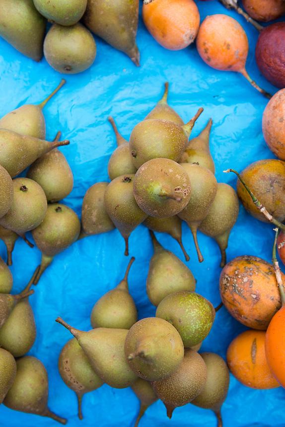 Fruta, Fruit at the market in Tlayacapan, Morelos, Mexico