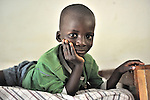 A boy in the Mary Morris Orphanage, run by the United Methodist Church in Kamina, Democratic Republic of the Congo.