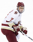 Isaac MacLeod (BC - 7) - The Boston College Eagles defeated the visiting University of Maine Black Bears 4-0 on Friday, November 19, 2010, at Conte Forum in Chestnut Hill, Massachusetts.