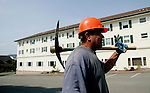 PALCO Laborer Rafael Abila is part of the &quot;town crew&quot; that performs maintenance tasks throughout Scotia, CA on Tuesday, June 27, 2006. The town of Scotia in Northern California is a company town owned by the Pacific Lumber Company (PALCO), but that will change as the company will begin to sell the town. (Photo by Max Whittaker for The New York Times)<br />