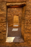 Doors & Sunlight - Chaco Canyon, NM - Pueblo Bonito