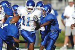 Oxford Middle School vs. Water Valley in 8th grade football action at Vaught-Hemingway Stadium in Oxford, Miss. on Saturday, August 27, 2011.