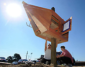 Greenland EAST Little Free Library installation