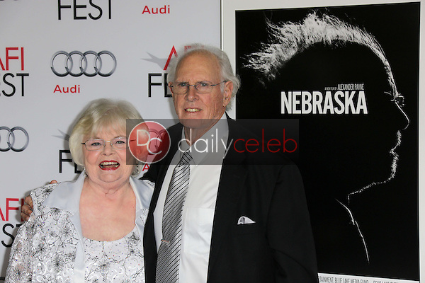 June Squibb, Bruce Dern<br /> at the &quot;Nebraska&quot; Screening at AFI Fest 2013, Chinese Theater, Hollywood, CA 11-11-13<br /> David Edwards/DailyCeleb.com 818-249-4998