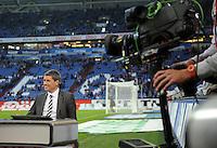 FUSSBALL   1. BUNDESLIGA   SAISON 2011/2012    9. SPIELTAG FC Schalke 04  - 1. FC Kaiserslautern                      15.10.2011 Ex-Schiedsrichter ud Sky-Experte Markus MERK